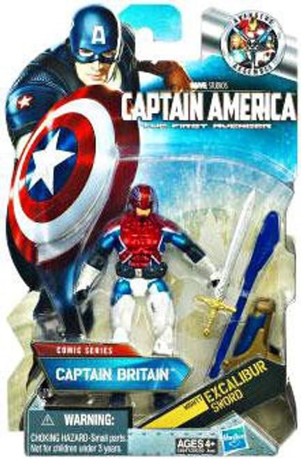 Captain America The First Avenger Comic Series Captain Britain Action Figure #6
