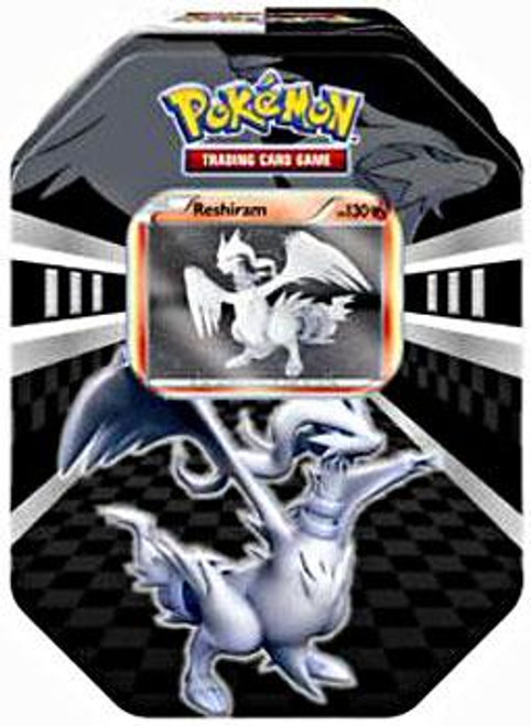 Pokemon Trading Card Game Black & White Legends Reshiram Tin Set [4 Booster Packs & Promo Card]