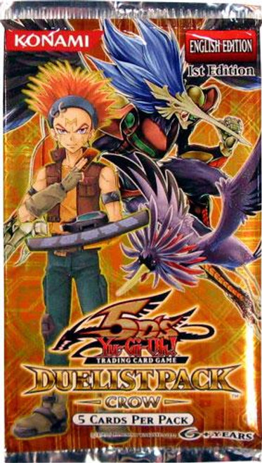 YuGiOh Trading Card Game Duelist Pack Crow Booster Pack