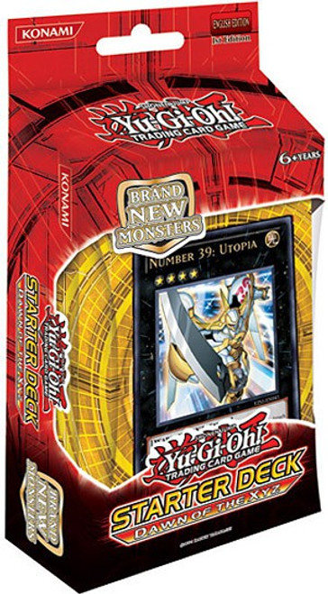 YuGiOh Trading Card Game Dawn of the XYZ Starter Deck
