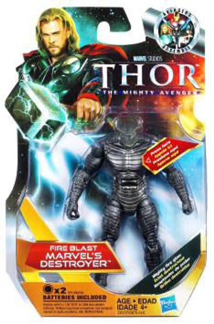 Thor The Mighty Avenger Fire Blast Marvel's Destroyer Action Figure #11