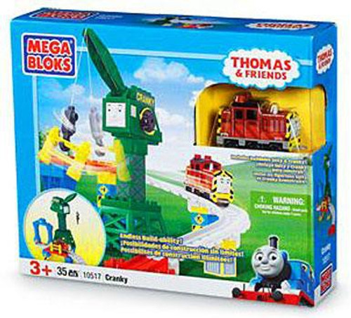 Mega Bloks Thomas & Friends Cranky Set #10517