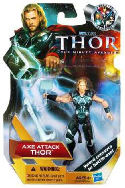 The Mighty Avenger Thor Action Figure [Axe Attack]