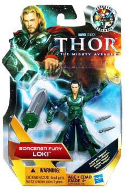 Thor The Mighty Avenger Loki Action Figure [Sorcerer Fury]