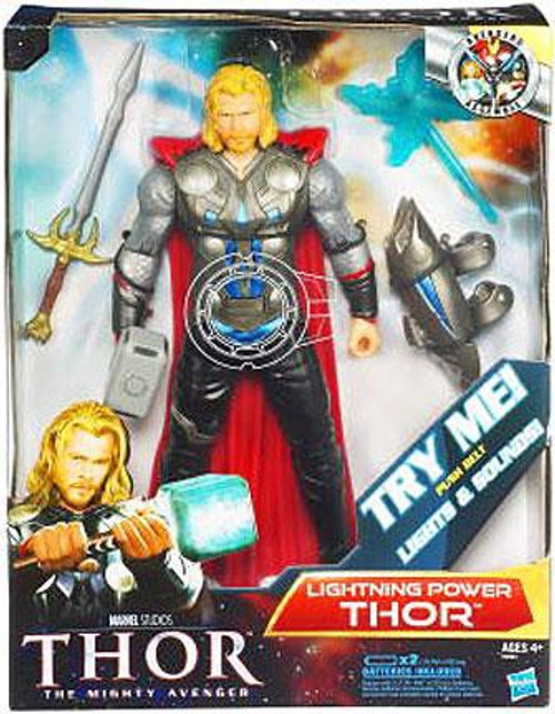 The Mighty Avenger Thor Action Figure [Lightning Power]