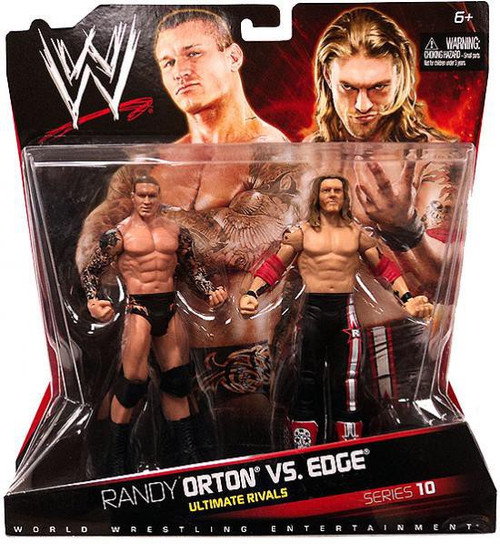 WWE Wrestling Battle Pack Series 10 Randy Orton vs. Edge Action Figure 2-Pack
