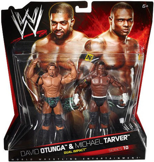 WWE Wrestling Battle Pack Series 10 David Otunga & Michael Tarver Action Figure 2-Pack