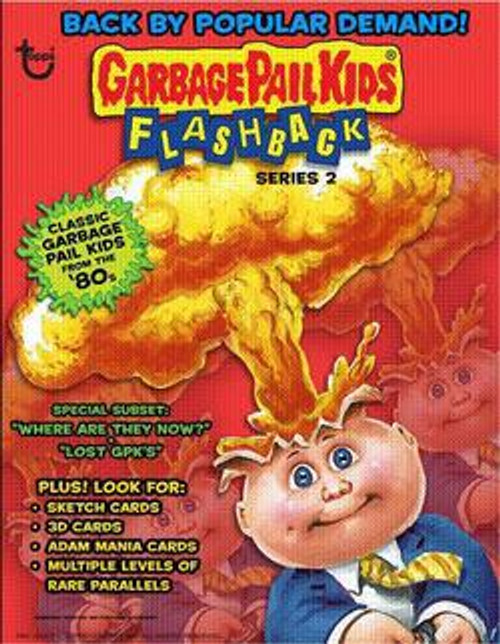 Garbage Pail Kids Topps Flashback Series 2 Trading Card Sticker Pack