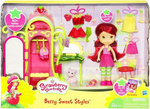 Strawberry Shortcake Berry Sweet Styles Playset