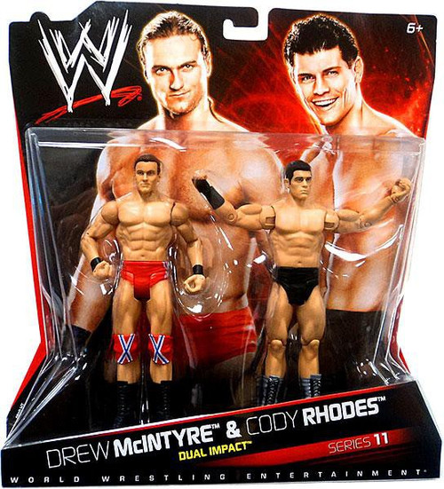 WWE Wrestling Battle Pack Series 11 Drew McIntyre & Cody Rhodes Action Figure 2-Pack