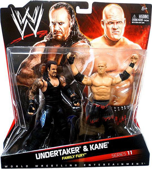 WWE Wrestling Battle Pack Series 11 Undertaker & Kane Action Figure 2-Pack