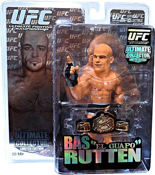 "UFC Ultimate Collector Series 6 Bas ""El Guapo"" Rutten Action Figure [Limited Edition]"