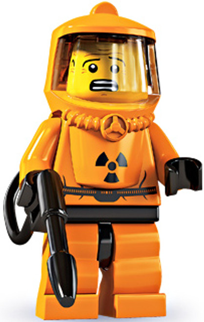 LEGO Minifigures Series 4 Hazmat Guy Minifigure [Loose]