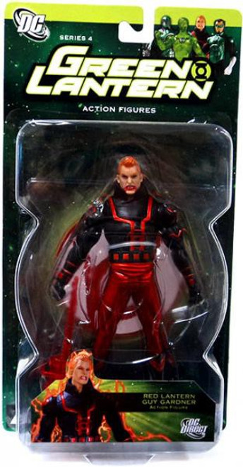DC Green Lantern Series 4 Red Lantern Guy Gardner Action Figure