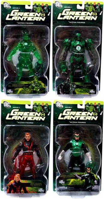 DC Green Lantern Series 4 Set of 4 Action Figures