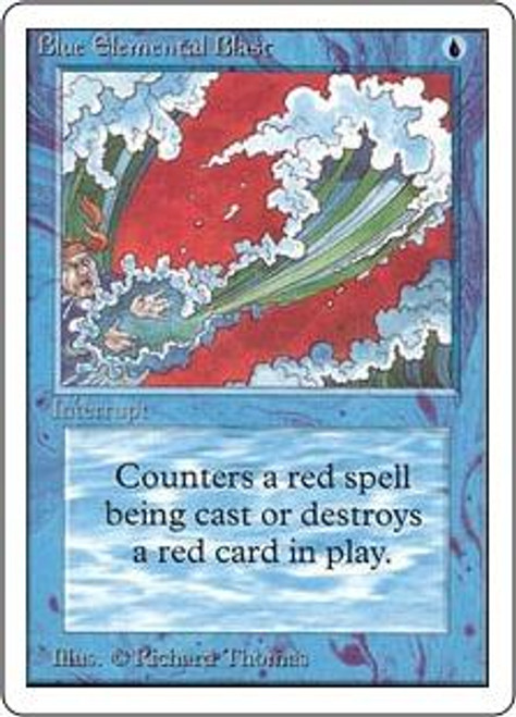 MtG Unlimited Common Blue Elemental Blast