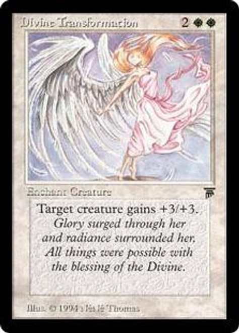 MtG Legends Rare Divine Transformation