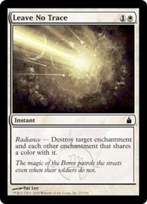 MtG Ravnica: City of Guilds Common Leave No Trace #23