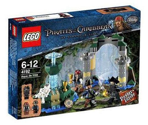 LEGO Pirates of the Caribbean Fountain of Youth Set #4192