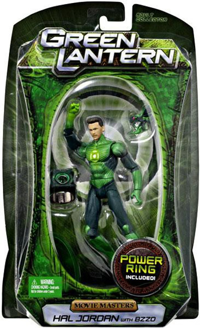 Green Lantern Movie Masters Series 3 Hal Jordan With Bzzd Action Figure
