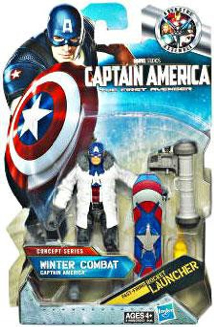 The First Avenger Concept Series Winter Combat Captain America Action Figure #11