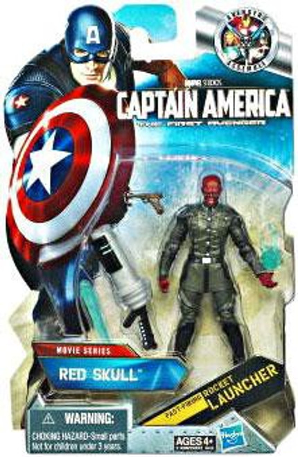 Captain America The First Avenger Comic Series Red Skull Action Figure #8