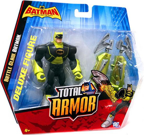 Brave and the Bold Total Armor Battle Claw Batman Action Figure