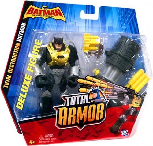 Brave and the Bold Total Armor Total Destruction Batman Action Figure