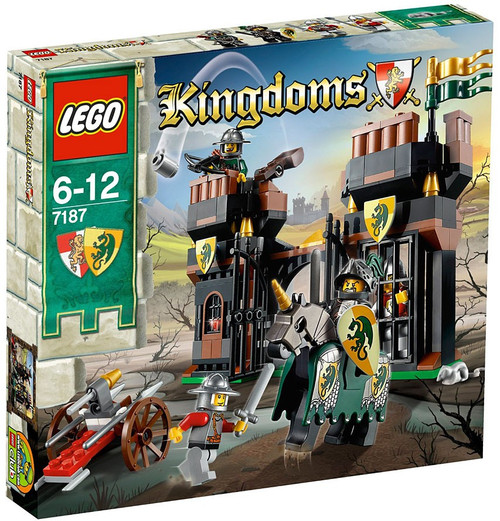 LEGO Kingdoms Escape from Dragon's Prison Set #7187