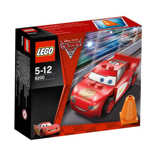 LEGO Disney / Pixar Cars Cars 2 Radiator Springs Lightning McQueen Set #8200