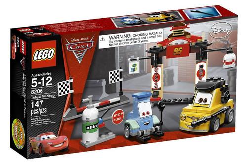 LEGO Disney / Pixar Cars Cars 2 Tokyo Pit Stop Set #8206