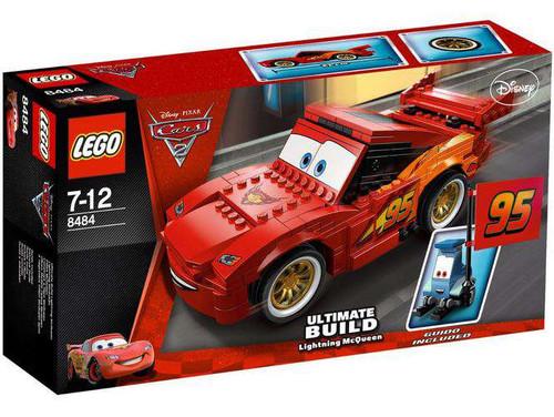 LEGO Disney / Pixar Cars Cars 2 Ultimate Build Lightning McQueen Set #8484