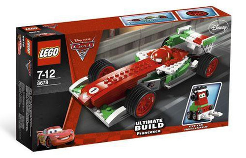 LEGO Disney / Pixar Cars Cars 2 Ultimate Build Francesco Exclusive Set #8678