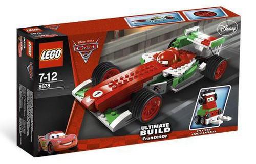 LEGO Disney / Pixar Cars Cars 2 Ultimate Build Francesco Exclusive Set #8678