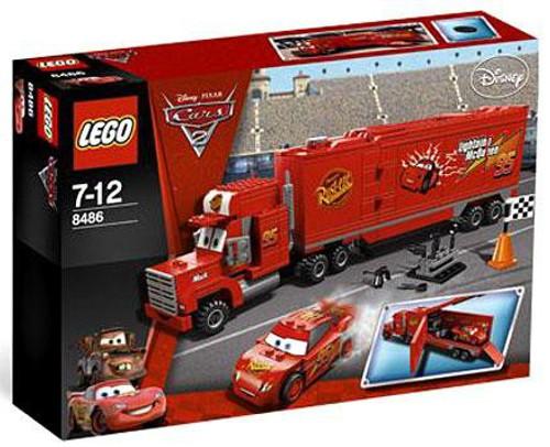LEGO Disney / Pixar Cars Cars 2 Mack's Team Truck Set #8486