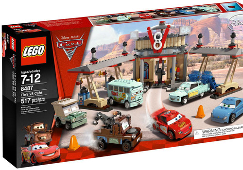 LEGO Disney / Pixar Cars Cars 2 Flos V8 Cafe Set #8487