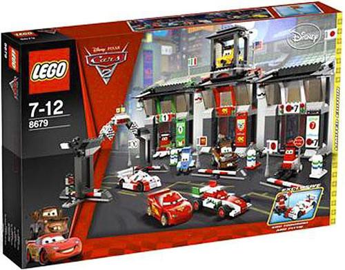 LEGO Disney / Pixar Cars Cars 2 Tokyo International Circuit Exclusive Set #8679