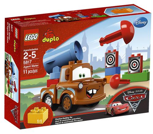 LEGO Disney / Pixar Cars Duplo Cars 2 Agent Mater Set #5817