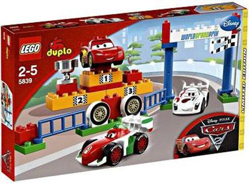 LEGO Disney / Pixar Cars Duplo Cars 2 World Grand Prix Exclusive Set #5839