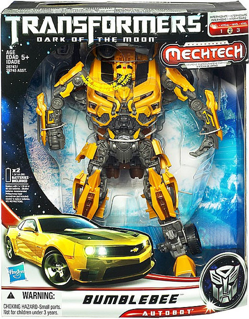 Transformers Dark of the Moon Mechtech Leader Bumblebee Leader Action Figure