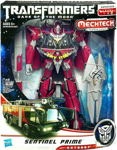 Transformers Dark of the Moon Mechtech Leader Sentinel Prime Leader Action Figure