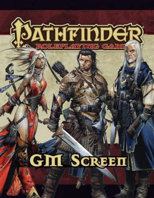 Pathfinder 1st Edition GM Screen Roleplaying Book