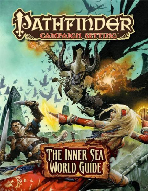Pathfinder 1st Edition Inner Sea World Guide Roleplaying Book