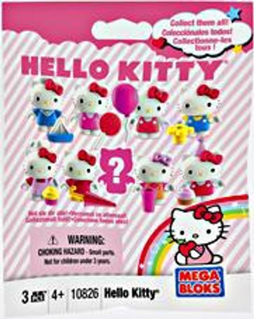 Mega Bloks Hello Kitty Series 1 Minifigure Mystery Pack #10826