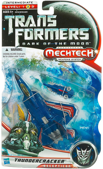 Transformers Dark of the Moon Mechtech Thundercracker Deluxe Action Figure