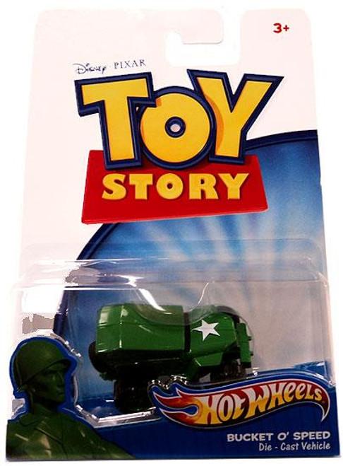 Toy Story Hot Wheels Bucket O' Speed Diecast Car
