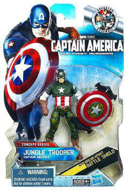 The First Avenger Concept Series Jungle Trooper Captain America Action Figure #13