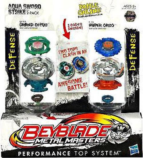 Beyblade Metal Masters Aqua Sword Strike 2-Pack BB82B