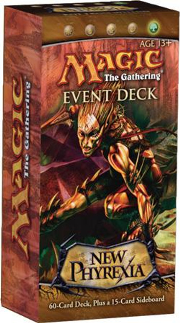 MtG Trading Card Game New Phyrexia Rot from Within Event Deck