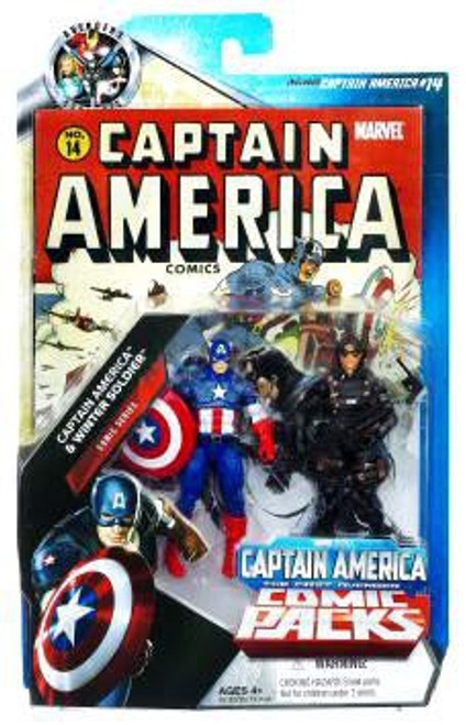 Marvel Universe Captain America & Winter Soldier Exclusive Action Figure 2-Pack